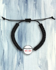 Fplegerin-Leben Cord Circle Bracelet aos-bracelet-cord-front-lifestyle-6