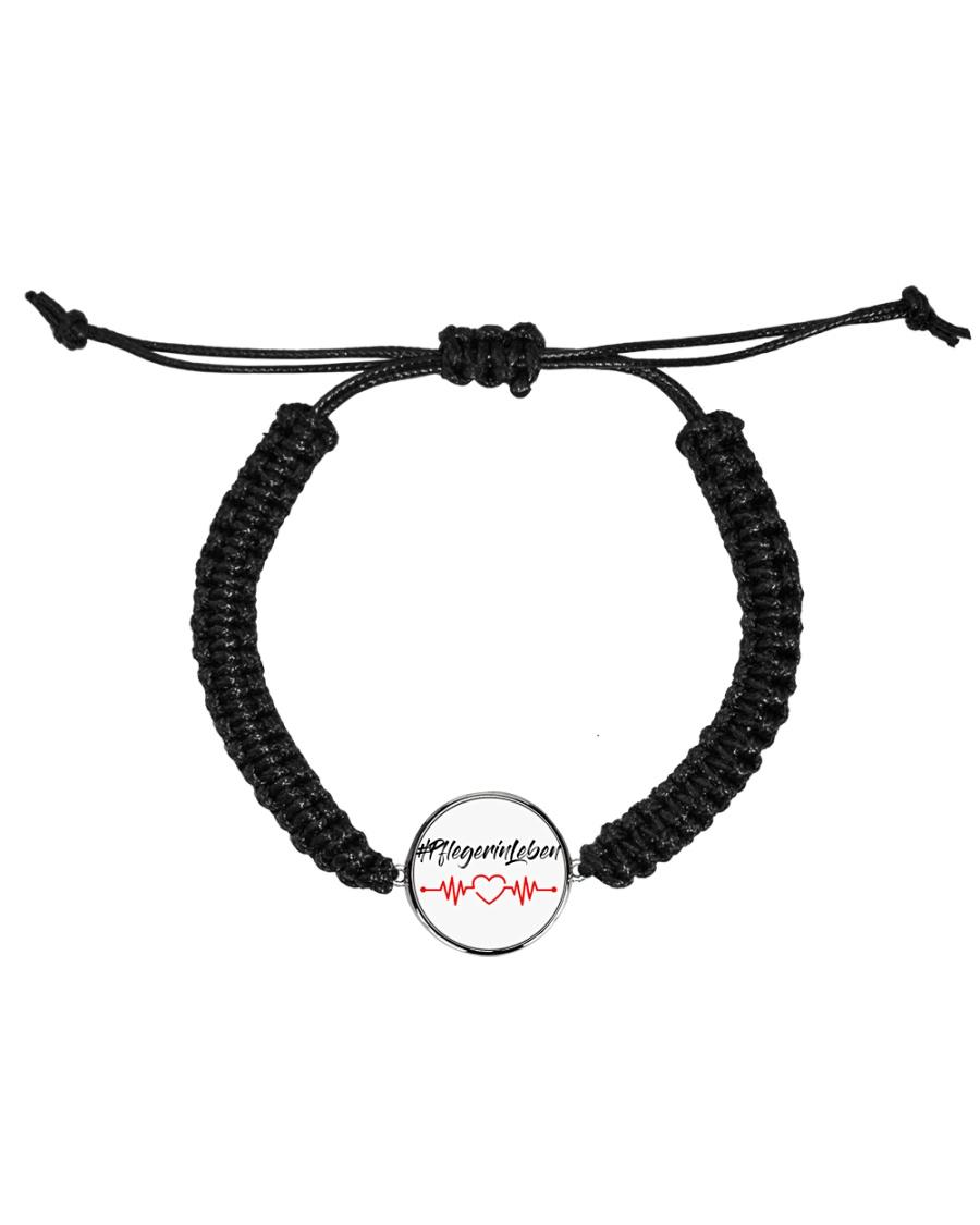 Fplegerin-Leben Cord Circle Bracelet