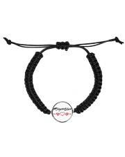 Fplegerin-Leben Cord Circle Bracelet thumbnail
