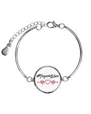 Fplegerin-Leben Metallic Circle Bracelet front