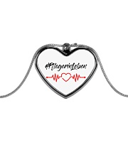 Fplegerin-Leben Metallic Heart Necklace thumbnail