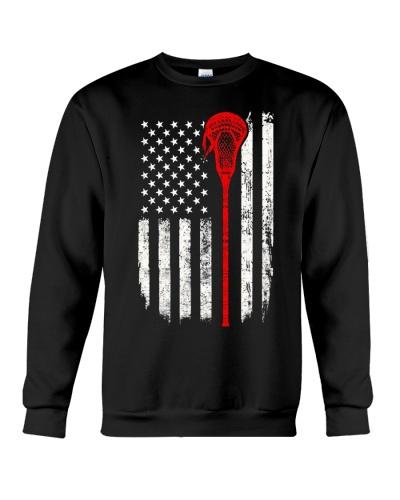 Lacrosse American Flag
