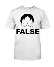 Dwight Schrute False Premium Fit Mens Tee thumbnail
