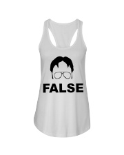 Dwight Schrute False Ladies Flowy Tank thumbnail