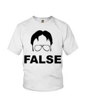 Dwight Schrute False Youth T-Shirt thumbnail