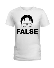 Dwight Schrute False Ladies T-Shirt thumbnail