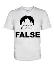 Dwight Schrute False V-Neck T-Shirt thumbnail