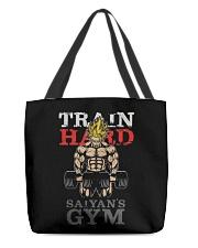 Super Saiyan Train Hard Saiyans GYM All-Over Tote tile