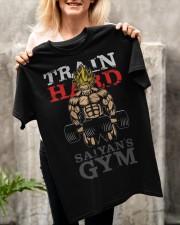 Train Hard GYM Classic T-Shirt apparel-classic-tshirt-lifestyle-front-117
