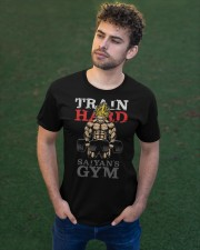 Train Hard GYM Classic T-Shirt apparel-classic-tshirt-lifestyle-front-43