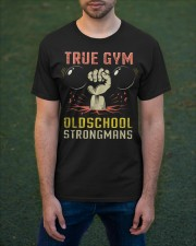 True Gym Old School Strong Mans Classic T-Shirt apparel-classic-tshirt-lifestyle-front-42
