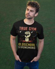 True Gym Old School Strong Mans Classic T-Shirt apparel-classic-tshirt-lifestyle-front-43