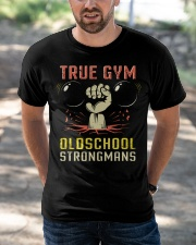 True Gym Old School Strong Mans Classic T-Shirt apparel-classic-tshirt-lifestyle-front-50