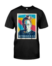 Vintage Notorious Rbg Tshirt Classic T-Shirt front