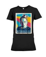 Vintage Notorious Rbg Tshirt Premium Fit Ladies Tee thumbnail