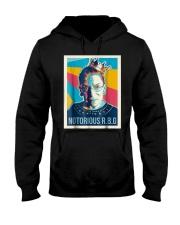 Vintage Notorious Rbg Tshirt Hooded Sweatshirt thumbnail