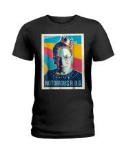 Vintage Notorious Rbg Tshirt Ladies T-Shirt thumbnail
