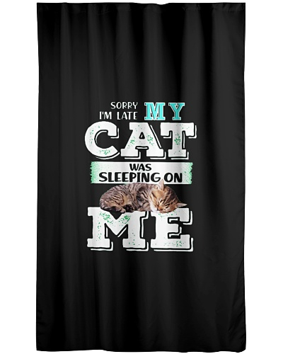 Sleeping On My Cat Gift Friend Lovers