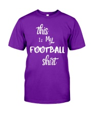 My Football Shirt Classic T-Shirt front