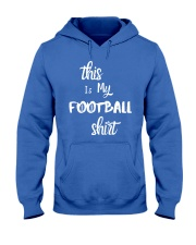 My Football Shirt Hooded Sweatshirt thumbnail