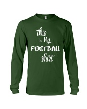 My Football Shirt Long Sleeve Tee thumbnail