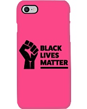 Black Lives Matter Awareness Phone Case i-phone-7-case