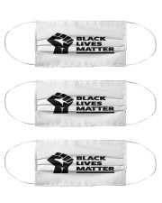 Black Lives Matter Awareness Cloth Face Mask - 3 Pack thumbnail