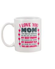 I Love You Mom Gift for Mother's Day  Mug Mug back