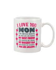 I Love You Mom Gift for Mother's Day  Mug Mug front