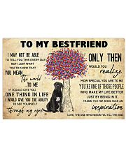 Cane Corso To My Bestfriend 17x11 Poster front
