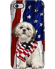 Shih Tzu Usa Flag Phone Case i-phone-7-case