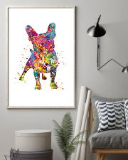 french bulldog water corlor 11x17 Poster lifestyle-poster-1