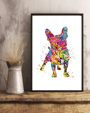 french bulldog water corlor 11x17 Poster lifestyle-poster-3