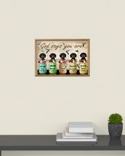Dachshund God Says You Are 24x16 Poster poster-landscape-24x16-lifestyle-09