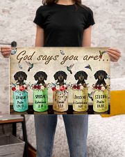 Dachshund God Says You Are 24x16 Poster poster-landscape-24x16-lifestyle-20