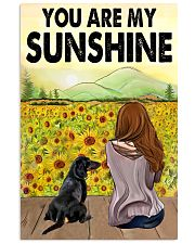 Dachshund You Are My Sunshine 11x17 Poster front