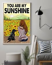 Dachshund You Are My Sunshine 11x17 Poster lifestyle-poster-1