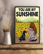 Dachshund You Are My Sunshine 11x17 Poster lifestyle-poster-3