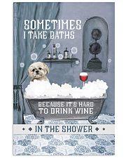 Shih Tzu I Take Baths 11x17 Poster front