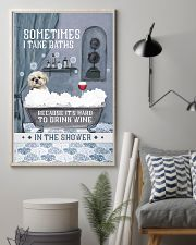 Shih Tzu I Take Baths 11x17 Poster lifestyle-poster-1