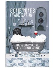 Labrador I Take Baths 11x17 Poster front