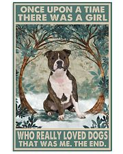Bull Terrier Once Upon A Time 11x17 Poster front