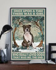 Bull Terrier Once Upon A Time 11x17 Poster lifestyle-poster-2