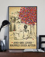 Pitbull She Lived Happily 11x17 Poster lifestyle-poster-2