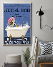 jack russell terrier bath soap Lavender 11x17 Poster lifestyle-poster-1