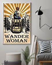 hiking wander woman 11x17 Poster lifestyle-poster-1