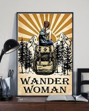 hiking wander woman 11x17 Poster lifestyle-poster-2