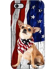 Chihuahua Usa Flag Phone Case i-phone-8-case