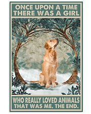 Golden Retriever Once Upon A Time Animals 11x17 Poster front