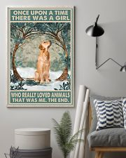 Golden Retriever Once Upon A Time Animals 11x17 Poster lifestyle-poster-1